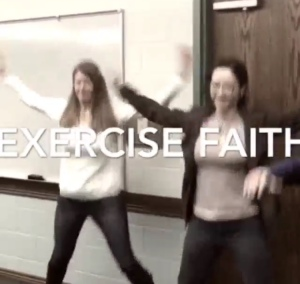 Exercise faith