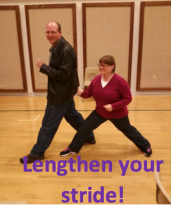 Lengthen Your Stride