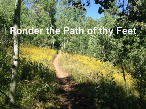 Ponder the Path of thy Feet (2)