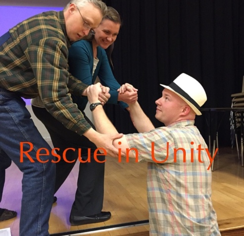 Rescue in unity