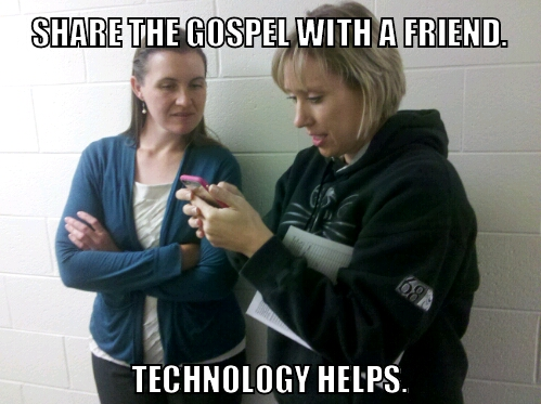 Share the gospel with a friend