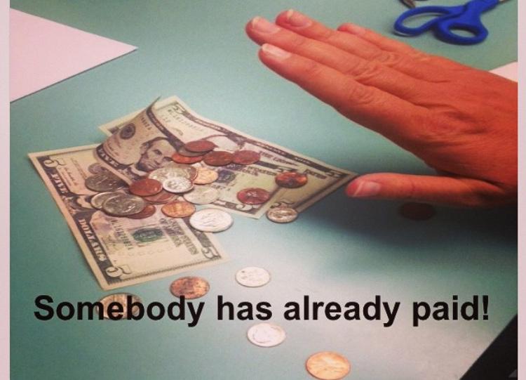 Somebody has already paid(2)